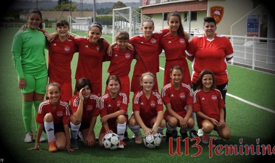 U13 Féminines : LESCAR / TARBES PF