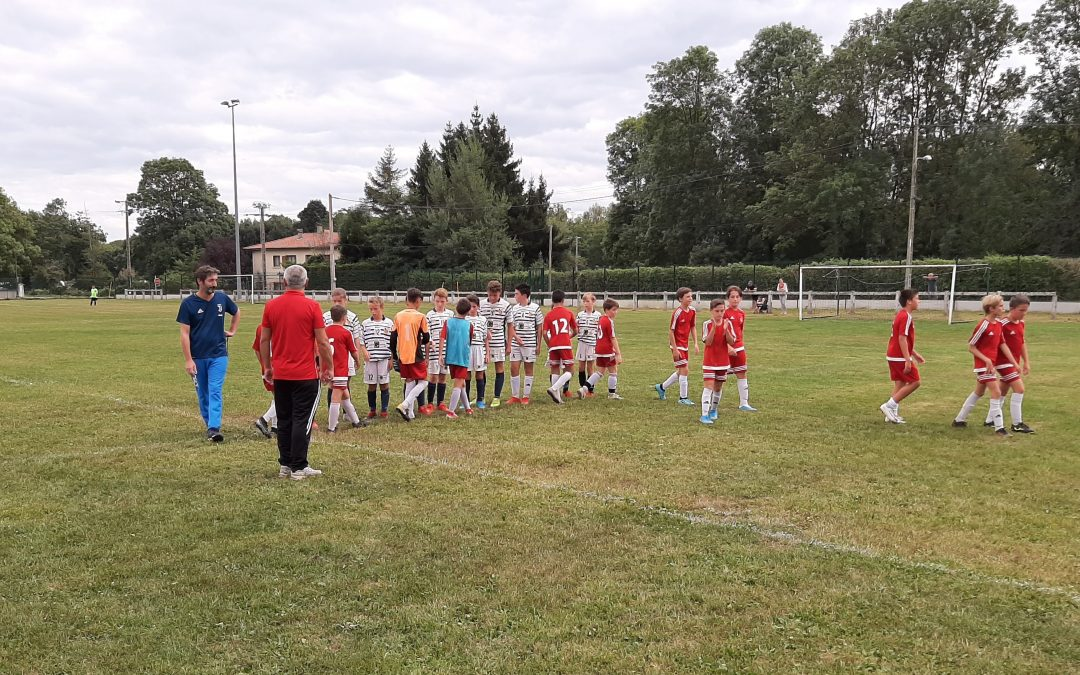 U13 : plateau à Saint Laurent