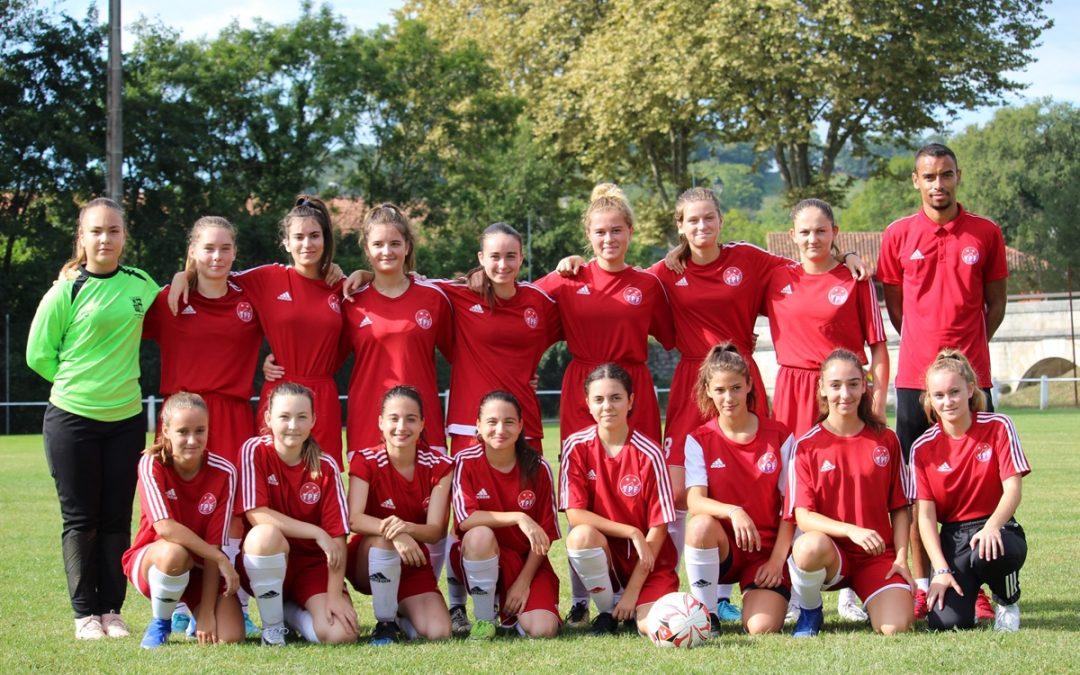 U18 Féminines : Amical ISARDES / TARBES PF