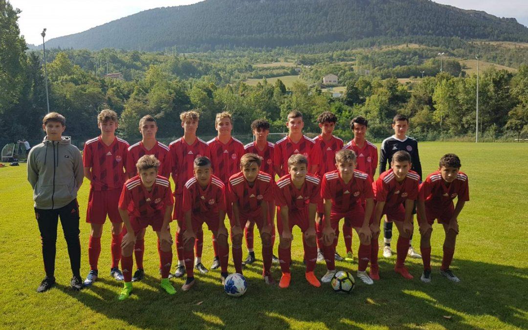 U16 R1 : Stage en Aveyron
