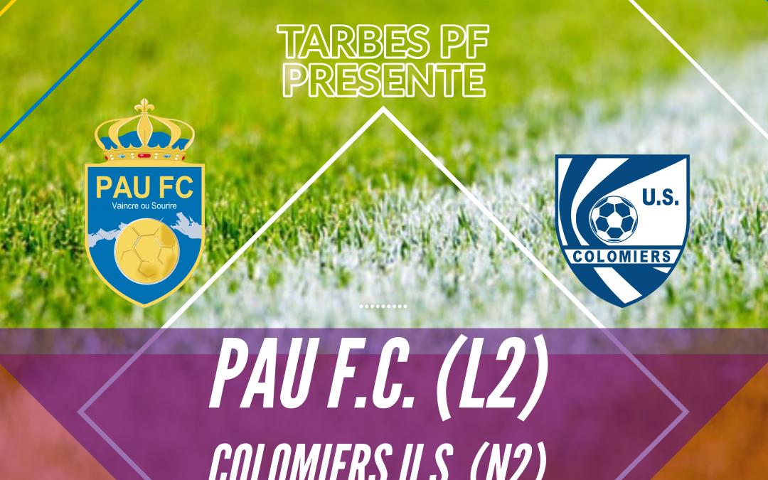 Club : Les infos pour Pau FC – Colomiers US