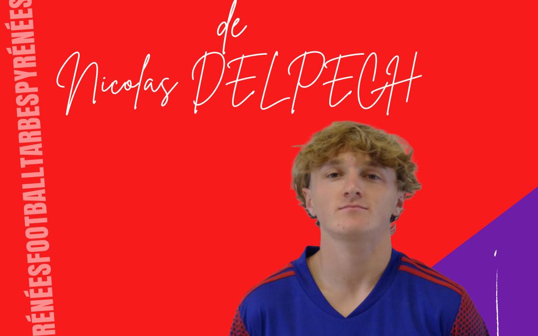 R1 : L'interview de Nicolas Delpech