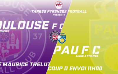 Club : Toulouse F.C. / Pau F.C., épisode 2